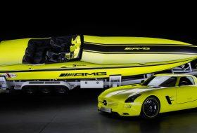 Mercedes направи най-бързата електрическа моторница в света