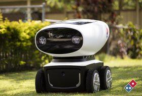 Domino's ще доставя пици с малка автономна количка