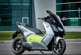 Обновеният електрически скутер на BMW с пробег 160 км