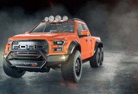 Hennessey направи Ford Raptor 6×6