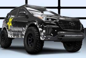 Специалният Hyundai Santa Fe за шоуто SEMA