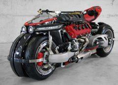 Мотоциклет с V8 от Maserati