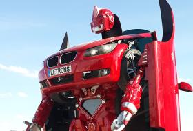 В Турция превърнаха BMW в робот
