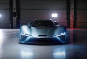 NIO EP9 – най-бързата електрическа кола до момента