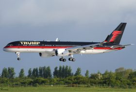 Частният самолет на Доналд Тръмп