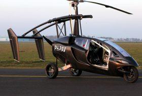 Това е първата серийна летяща кола