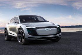 Audi e-tron Sportback Concept – 500 к.с. и 500 км пробег