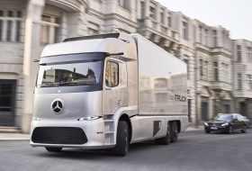 Urban eTruck – електрически камион от Mercedes