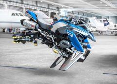 BMW и LEGO направиха летящ мотоциклет
