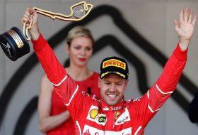 Фетел ликува след двойна победа за Ferrari в Монако