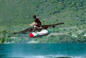 Съосновател на Google създаде летяща кола