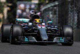 Хамилтън ще стартира първи в Гран При на Азербайджан