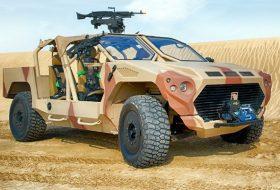 Армейско чудовище с двигател от Maserati