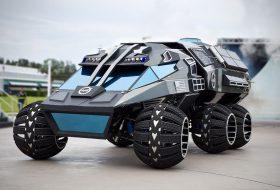 NASA създаде батмобил